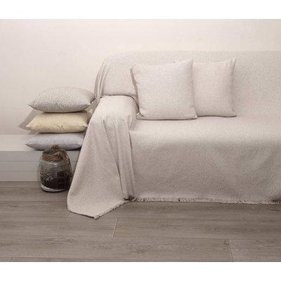 Διακοσμητικό Μαξιλάρι με γέμιση 55x55 - AnnaRiska - 1554 - Sand / Άμμος | Διακοσμητικά Μαξιλάρια | DressingHome
