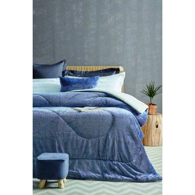 Διακοσμητική Μαξιλαροθήκη 50x50 - Palamaiki - Grind - Blue | Διακοσμητικές Μαξιλαροθήκες | DressingHome