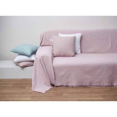 Διακοσμητικό Μαξιλάρι με γέμιση 42x42 - AnnaRiska - 1554 - Blush Pink / Σάπιο Μήλο   Διακοσμητικά Μαξιλάρια   DressingHome