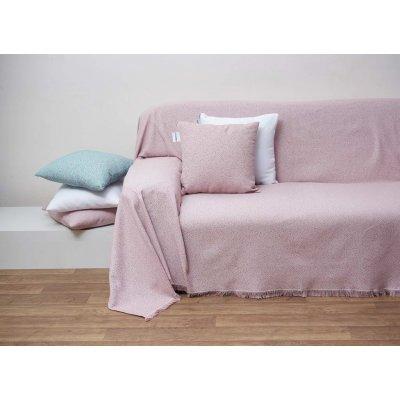 Διακοσμητικό Μαξιλάρι με γέμιση 55x55 - AnnaRiska - 1554 - Blush Pink / Σάπιο Μήλο | Διακοσμητικά Μαξιλάρια | DressingHome