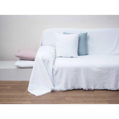 Διακοσμητικό Μαξιλάρι με γέμιση 55x55 - AnnaRiska - 1554 - White / Λευκό | Διακοσμητικά Μαξιλάρια | DressingHome