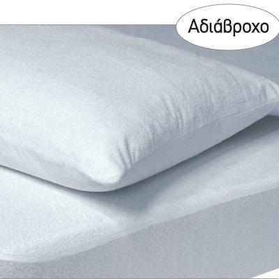 Επίστρωμα Ημίδιπλο Αδιάβροχο 120x200+35 - Das Home - Comfort Line - 1089 | Επιστρώματα - Καλύμματα Προστατευτικά | DressingHome