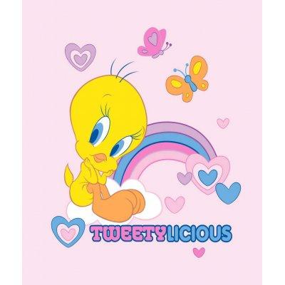 Κουβέρτα Κούνιας Βελουτέ 110x140 - Warner Bros By Viopros Junior - Tweety - 3 | Κουβερτούλες | DressingHome