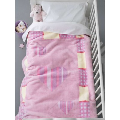 Κουβέρτα Κούνιας Βελουτέ / Velour 110x140 - Palamaiki - Bebe Velour - BV714 | Κουβερτούλες | DressingHome