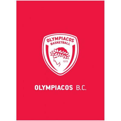 Κουβέρτα Fleece 130x170 - Palamaiki - Olympiacos Official Licenced - BC 1925 | Κουβερτούλες | DressingHome