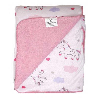 Κουβέρτα Μονή 155x220 - Viopros Junior - Kids & Baby Blankets - 74 | Κουβέρτες | DressingHome
