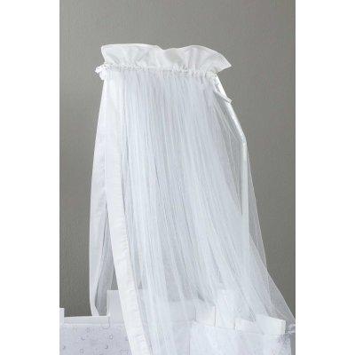 Κουνουπιέρα Κούνιας 180x550 - Nima Kids - Nappy - White | Κουνουπιέρες | DressingHome