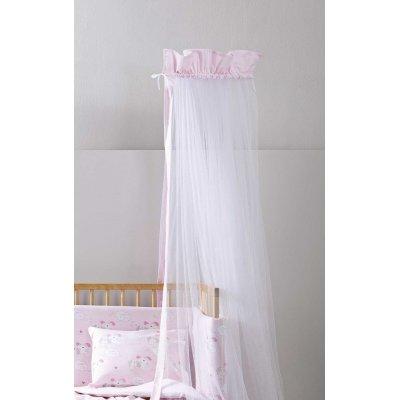 Κουνουπιέρα Κούνιας 180x550 - Nima Kids - Nappy - Pink | Κουνουπιέρες | DressingHome