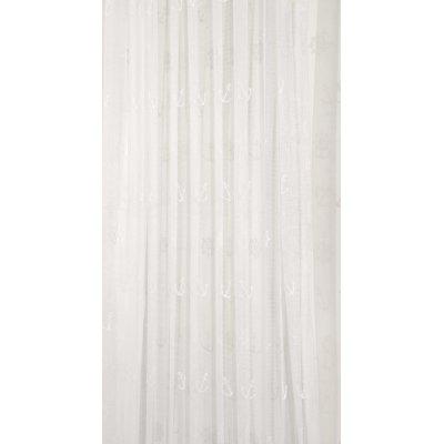 Κουρτίνα με τρέσα 140x270 - Viopros Junior - Δανδέλα - Άγκυρα Εκρού | Κουρτίνες | DressingHome