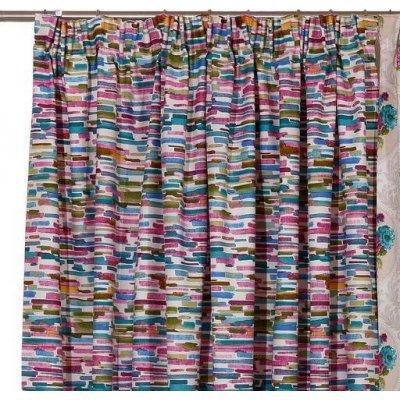 Κουρτίνα με τρέσα 140x270 - Viopros - Πάναμα Εμπριμέ - Μόντα | Κουρτίνες | DressingHome