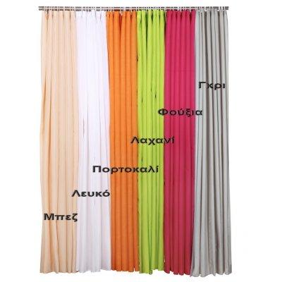 Κουρτίνα Μπάνιου Μονόχρωμη 180x180 - Viopros - Γκρι | Κουρτίνες | DressingHome