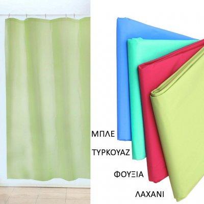 Κουρτίνα Μπάνιου 180x200 - Viopros - Μονόχρωμη - Φούξια | Κουρτίνες | DressingHome