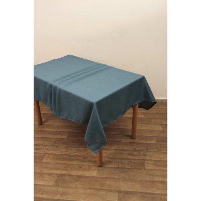 Καρέ 85x85 - Viopros - Ίζι - Πετρόλ | Τραπεζομάντηλα | DressingHome
