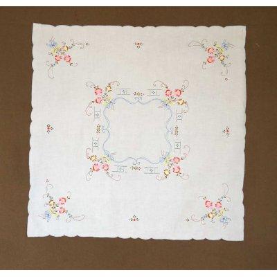 Καρέ κεντητό 85x85 - DressingHome - 17602/1-4 | Καρέ - Τραπεζοκαρέ | DressingHome