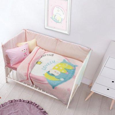 Κουβέρτα Κούνιας Βελουτέ 110x140 - Das Kids - Blanket Line - 6561 | Κουβερτούλες | DressingHome
