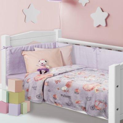 Κουβέρτα Κούνιας Fleece 110x150 - Das Kids - Blanket Line - 4764 | Κουβερτούλες | DressingHome