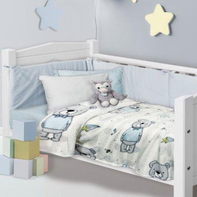 Κουβέρτα Κούνιας Fleece 110x150 - Das Kids - Blanket Line - 4767 | Κουβερτούλες | DressingHome