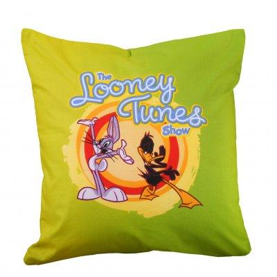 Μαξιλάρι με γέμιση 40x40 - Warner Bros By Viopros Junior - Looney Tunes - 10 | Μαξιλάρια Διακοσμητικά | DressingHome