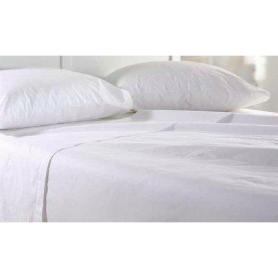 Μεμονωμένο Σεντόνι Υπέρδιπλο (Χωρίς Λάστιχο) 240x260 - Nima Home - Unicolors - White | Μεμονωμένα Σεντόνια | DressingHome
