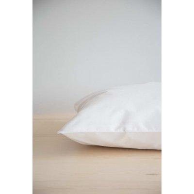 Μεμονωμένο Σεντόνι Υπέρδιπλο με λάστιχο για στρώμα 160x200+32 - Nima Home - Unicolors - White | Μεμονωμένα Σεντόνια | DressingHome