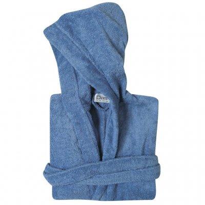 Μπουρνούζι με κουκούλα Νο 10 Ετών - Das Kids - Casual Line - 1450 / Μπλε | Μπουρνούζια | DressingHome