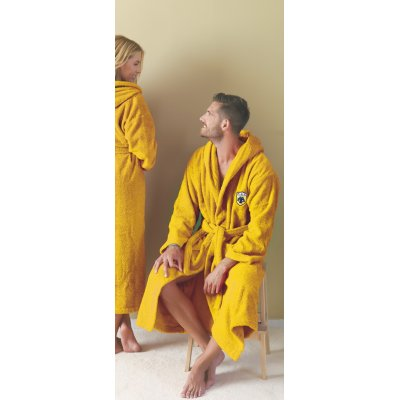 Μπουρνούζι XL Με Κουκούλα - Palamaiki - Adults - FC AEK | Μπουρνούζια | DressingHome
