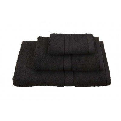 Πετσέτα Λαβέτα / Χειρός 30x30 - Viopros - Classic - Μαύρο | Πετσέτες | DressingHome