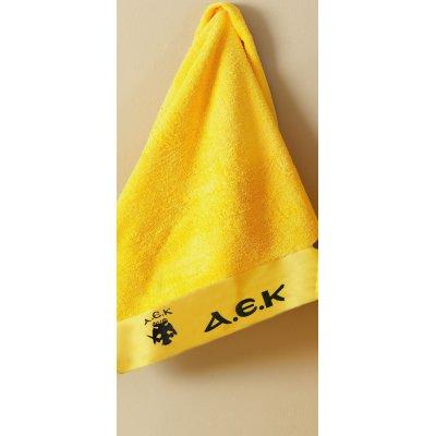 Πετσέτα Προσώπου 50x100 - Palamaiki - FC AEK Official Licenced | Πετσέτες | DressingHome