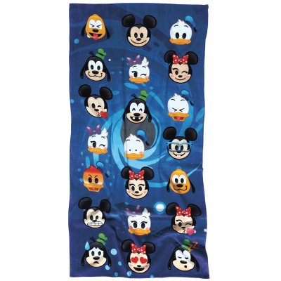 Πετσέτα Θαλάσσης 70x140 - Das Baby - Cartoon Line Prints - Disney Emoji 5820 | Πετσέτες | DressingHome