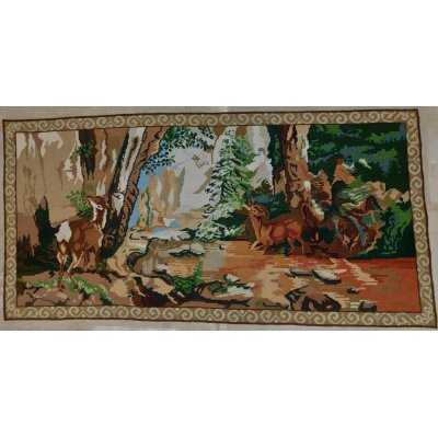 Πίνακας Διακοσμητικός χωρίς κορνίζα Κεντημένος Χειροποίητος Γκομπλέν 103x50 - DressingHome - P122 | Προσφορές - Σαλόνι Τραπεζαρία | DressingHome