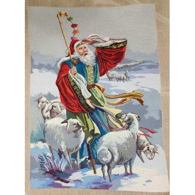 Πίνακας Διακοσμητικός χωρίς κορνίζα Κεντημένος Χειροποίητος Γκομπλέν 70x100 - DressingHome - Βοσκός | Προσφορές - Σαλόνι Τραπεζαρία | DressingHome