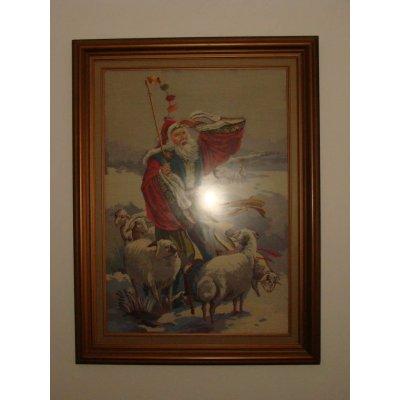 Πίνακας Διακοσμητικός με κορνίζα Κεντημένος Χειροποίητος Γκομπλέν 94x124 - DressingHome - Βοσκός | Προσφορές - Σαλόνι Τραπεζαρία | DressingHome