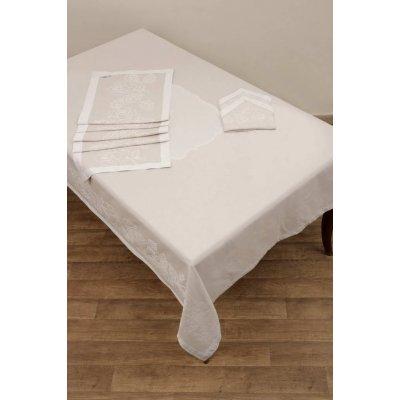 Ράνερ 50x165 - AnnaRiska - 2410 - Linen | Σεμέν - Ράνερ - Τραβέρσες | DressingHome