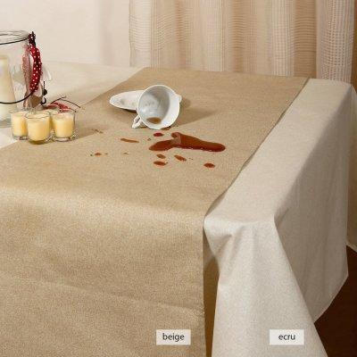 Ράνερ Αλέκιαστο 40x160 - Viopros - Dinner Ideas - Ντιάνα Εκρού | Σεμέν - Ράνερ - Τραβέρσες | DressingHome