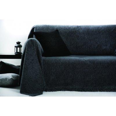 Ριχτάρι Διθέσιο 180x240 - AnnaRiska - 1300 - Dark Gray / Γκρι Σκούρο | Ριχτάρια | DressingHome