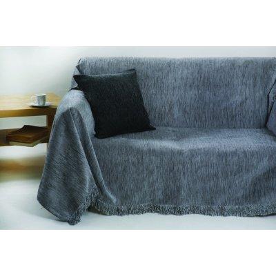 Ριχτάρι Τριθέσιο 180x280 - AnnaRiska - 1300 - Light Gray / Γκρι Ανοιχτό | Ριχτάρια | DressingHome