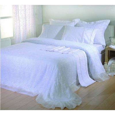 Σετ Κουβερλί Νυφικό 3 τμχ 240x250 - Viopros - 1015 - Λευκό | Κουβερλί Νυφικά | DressingHome