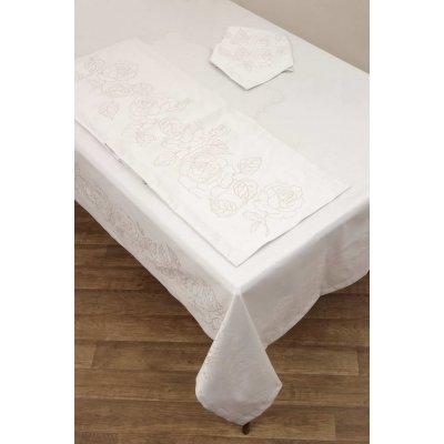 Σετ Πετσέτες Φαγητού 53x53 - AnnaRiska - 2410 - Ivory | Πετσέτες Φαγητού | DressingHome