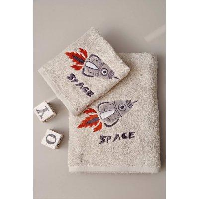 Σετ Πετσέτες 2 τμχ - Palamaiki - Kids Bath - SPACE | Πετσέτες | DressingHome
