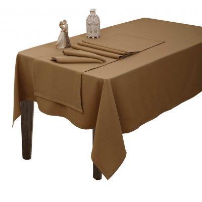 Σετ Ράνερ 2 τμχ 45x155 - Viopros - Dinner Ideas - Άρμονι / Μπεζ | Σεμέν - Ράνερ - Τραβέρσες | DressingHome