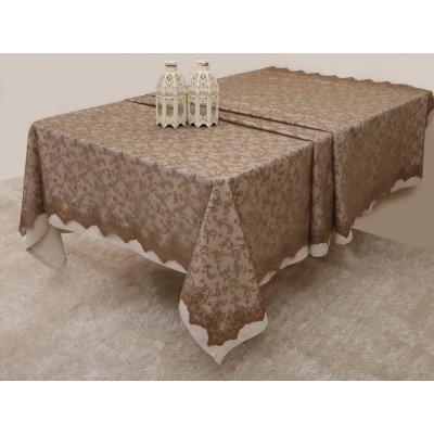 Σετ Σουπλά 4 τμχ 37x50 - AnnaRiska - Lace Collection - 2331 / Beige / Μπεζ | Σουπλά | DressingHome