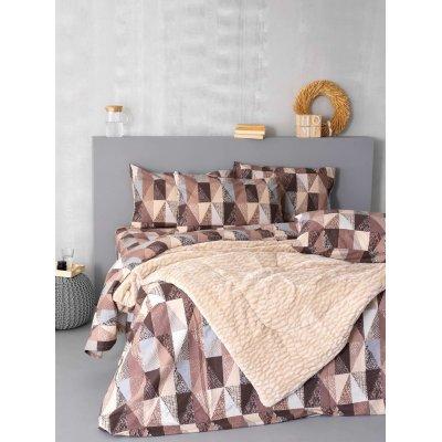 Σετ Σεντόνια Φανελένια 3 τμχ Μονά / Ημίδιπλα (Χωρίς Λάστιχο) 170x265 - Palamaiki - Flannel Beauty - FB0205 | Σετ Σεντόνια | DressingHome