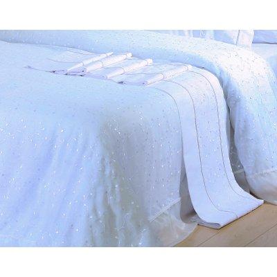 Σετ Σεντόνια 4 τμχ Υπέρδιπλα (Χωρίς Λάστιχο) 240x260 - Viopros - 1015 - Λευκό | Σεντόνια Νυφικά | DressingHome