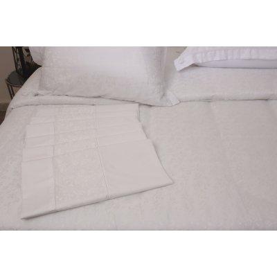 Σετ Σεντόνια 4 τμχ Υπέρδιπλα (Χωρίς Λάστιχο) 240x260 - Viopros - 1020 - Λευκό | Σεντόνια Νυφικά | DressingHome