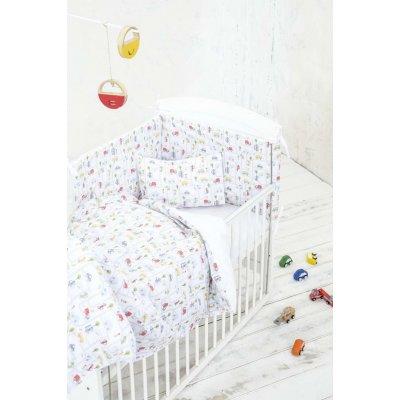 Σετ Σεντόνια 3 τμχ Κούνιας 120x170 - Nima Kids - BeepBeep | Σετ Σεντονάκια | DressingHome