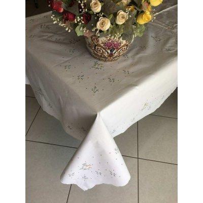 Σετ Τραπεζομάντηλο κεντητό με 12 πετσέτες 170x260 - DressingHome - Χρυσοκλωστή | Τραπεζομάντηλα | DressingHome