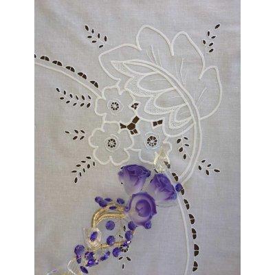 Σετ Τραπεζομάντηλο κεντητό με 12 πετσέτες 175x260 - DressingHome - AAW92496 | Τραπεζομάντηλα | DressingHome