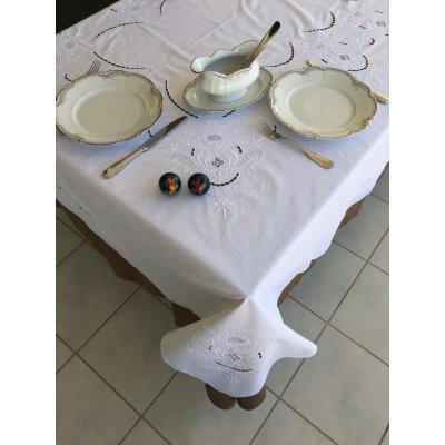 Σετ Τραπεζομάντηλο κεντητό με 12 πετσέτες 175x260 - DressingHome - UG - 409   Τραπεζομάντηλα   DressingHome