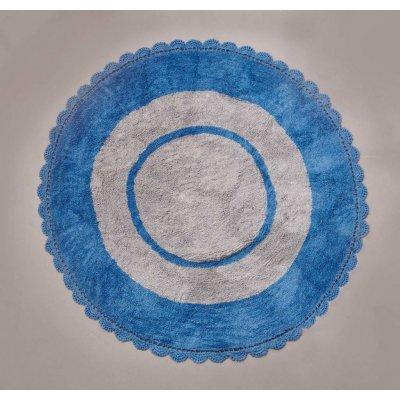 Χαλάκι 140x140 - Palamaiki - TARGET - BLUE | Χαλιά - Πατάκια | DressingHome