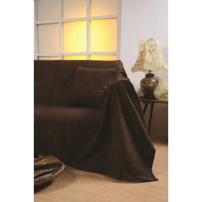 Ζεύγος Μαξιλαροθήκες Διακοσμητικές 45x45 - AnnaRiska - 1300 - Brown / Καφέ | Διακοσμητικές Μαξιλαροθήκες | DressingHome